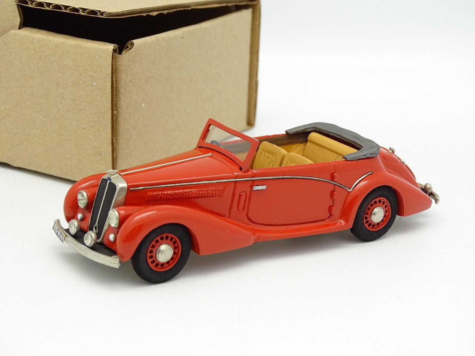 Ma Colección Brianza Resina 1 43 - Salmson S4 61 Cabriolet 1949 Rojo
