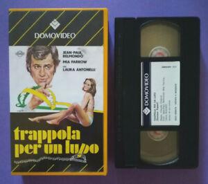 VHS-Film-Ita-Commedia-TRAPPOLA-PER-UN-LUPO-mia-farrow-no-dvd-lp-mc-cd-V186