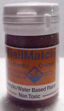 RailMatch 2424 - Dark Brick - General Colour - Acrylic Paint - 18ml Pot