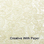 10 X A4 Embossed BLOOM paper