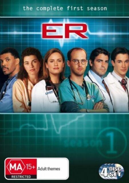 E R : Season 1 (DVD, 2004, 4-Disc Set)