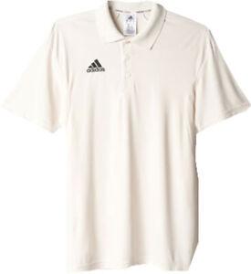 Adidas Howzat Short Sleeve Junior Polo Cricket Shirt