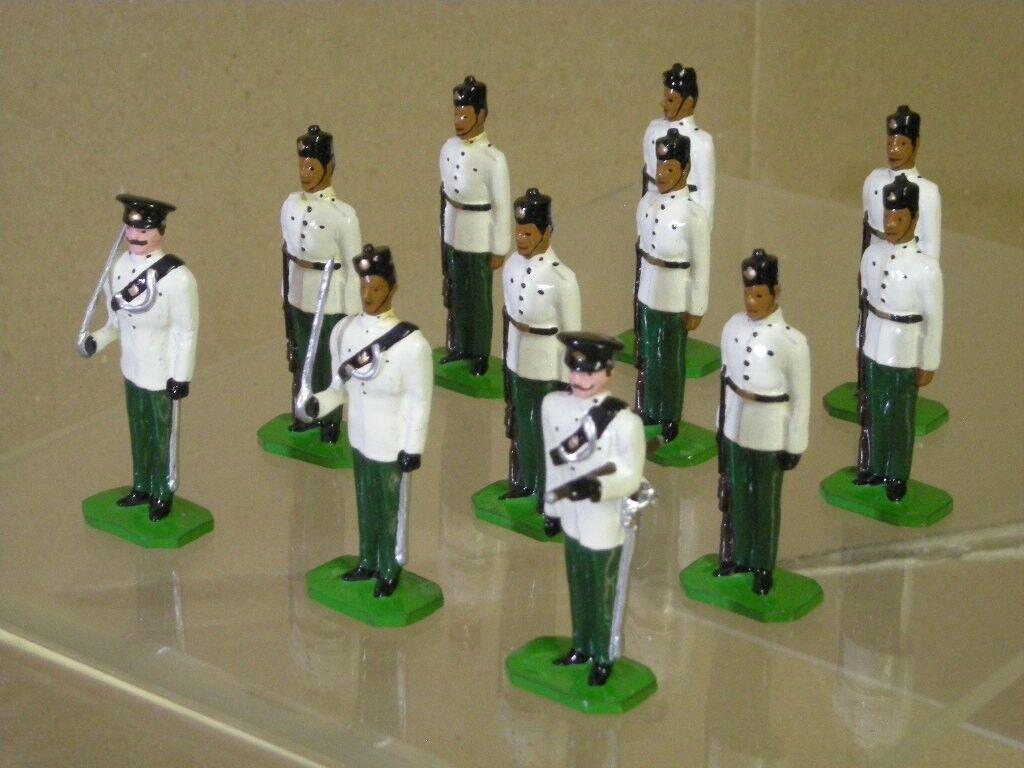 Ducal 6. Königin Elizabeth's Eigene Gurkha Gewehre Offizier & Soldat Zu