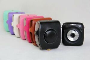 PU Leather Camera Case Bag Cover For Fuji Fujifilm Instax SQ 10 Fuji SQ10