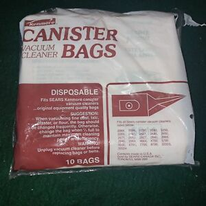 10-VACUUM-BAGS-SEARS-Kenmore-UPRIGHT-20-50114-MADE-USA