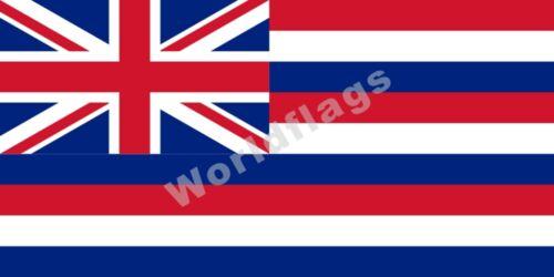 US Hawaii Flag 3X5FT Honolulu Princess Kaiulani King Kalakaua Governor Royal