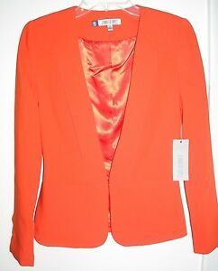 Nwt Corsica rtl Red Top Jennifer Xs sz 80 Blazer Light Kjolepakke Jacket Lopez gHgtr
