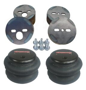 Truck Air Bags >> Details About 1988 98 Chevy Truck Air Ride Suspension Front Mount Cup Brackets 2600 Air Bags