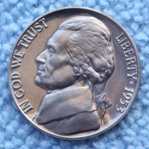 1953 Proof Jefferson Nickel
