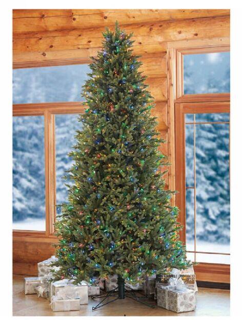 Costco 9ft Pre Lit Led Ez Connect Dual Color Christmas Tree 1455658 For Sale Online Ebay