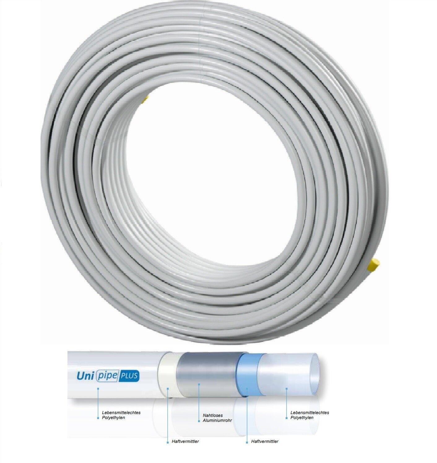 Meterpreis  Verbundrohr Uponor Unipipe Plus 16x2 mm in Ringen a 200 Meter
