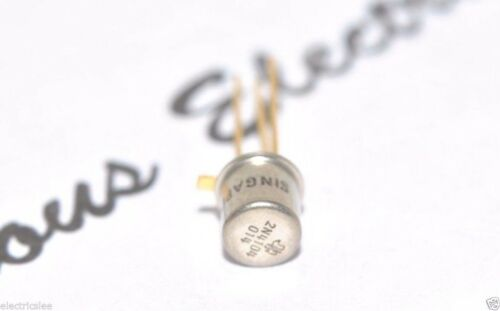 Genuine NOS 1PCS TI 2N4104 Gold-Pin TRANSISTOR