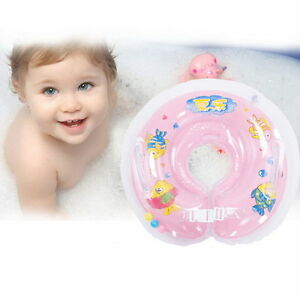 Baby-Aids-Infant-Swimming-Neck-Float-Inflatable-Tube-Ring-Safety-New-Neck-ta