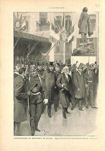 Inauguration-Monument-Alphonse-Baudin-par-Emile-Loubet-President-GRAVURE-1901