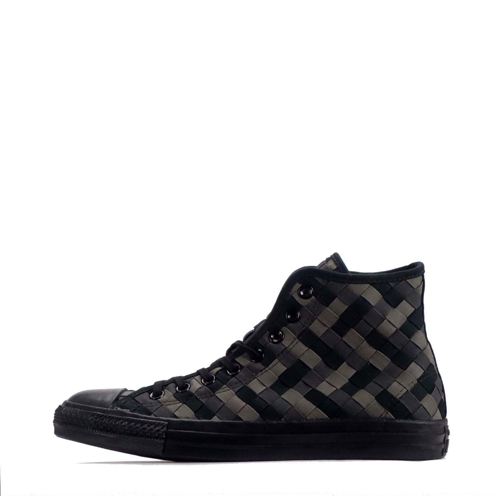 Converse Chuck Taylor All Star Hi Woven Men's Hi Top Shoes Black/Charcoal
