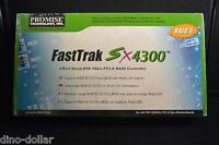 Promise Fasttrak Sx4300 4-port Sata 3gb/s Pci-x Raid Controller