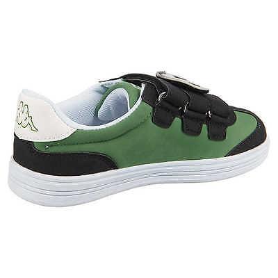 KAPPA Whoopy Kinder Sneaker Kinderschuhe Sportschuhe Freizeitschuhe grün Gr. 25