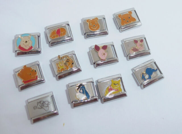 Disney LADY and the TRAMP Italian Photo 9mm charms for modular style Bracelet