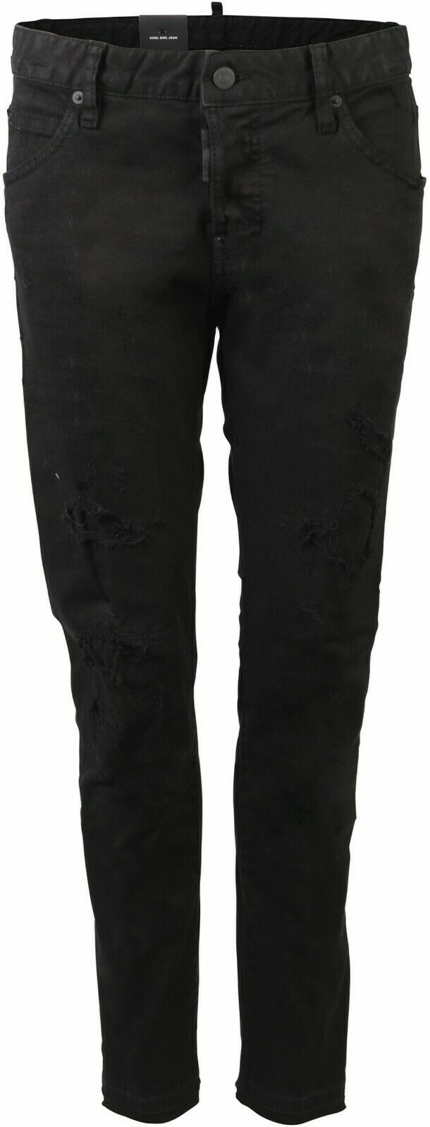 Women's Dsquared D2 Cool Girl Jeans black  DENIM GR IT 42 D 36 71619