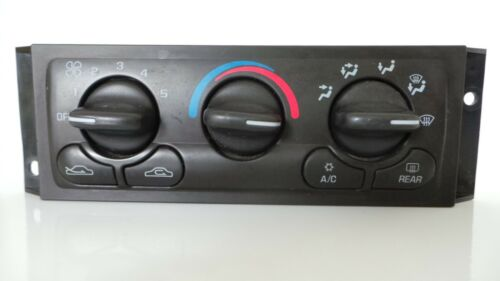 2000 CHEVROLET VENTURE WAGON 4D A//C HEATER CLIMATE CONTROL P//N 09380551