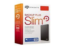 "1To 2.5"" Neuf SEAGATE Backup Plus SLIM USB3.0 Disque dur Externe Portable black"