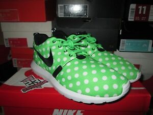 finest selection 9a590 dc1c7 Image is loading SALE-NIKE-ROSHE-RUN-MN-QS-POLKA-DOT-
