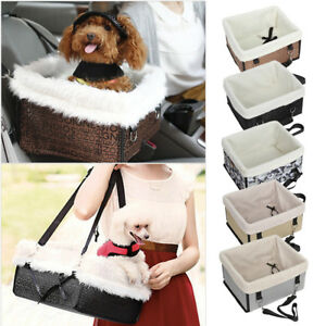 Image Is Loading Pet Cat Dog Puppy Car Seat Belt Booster