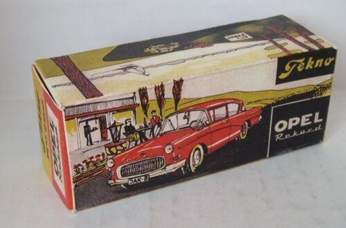 Repro box Tekno nº 720 Opel Rekord