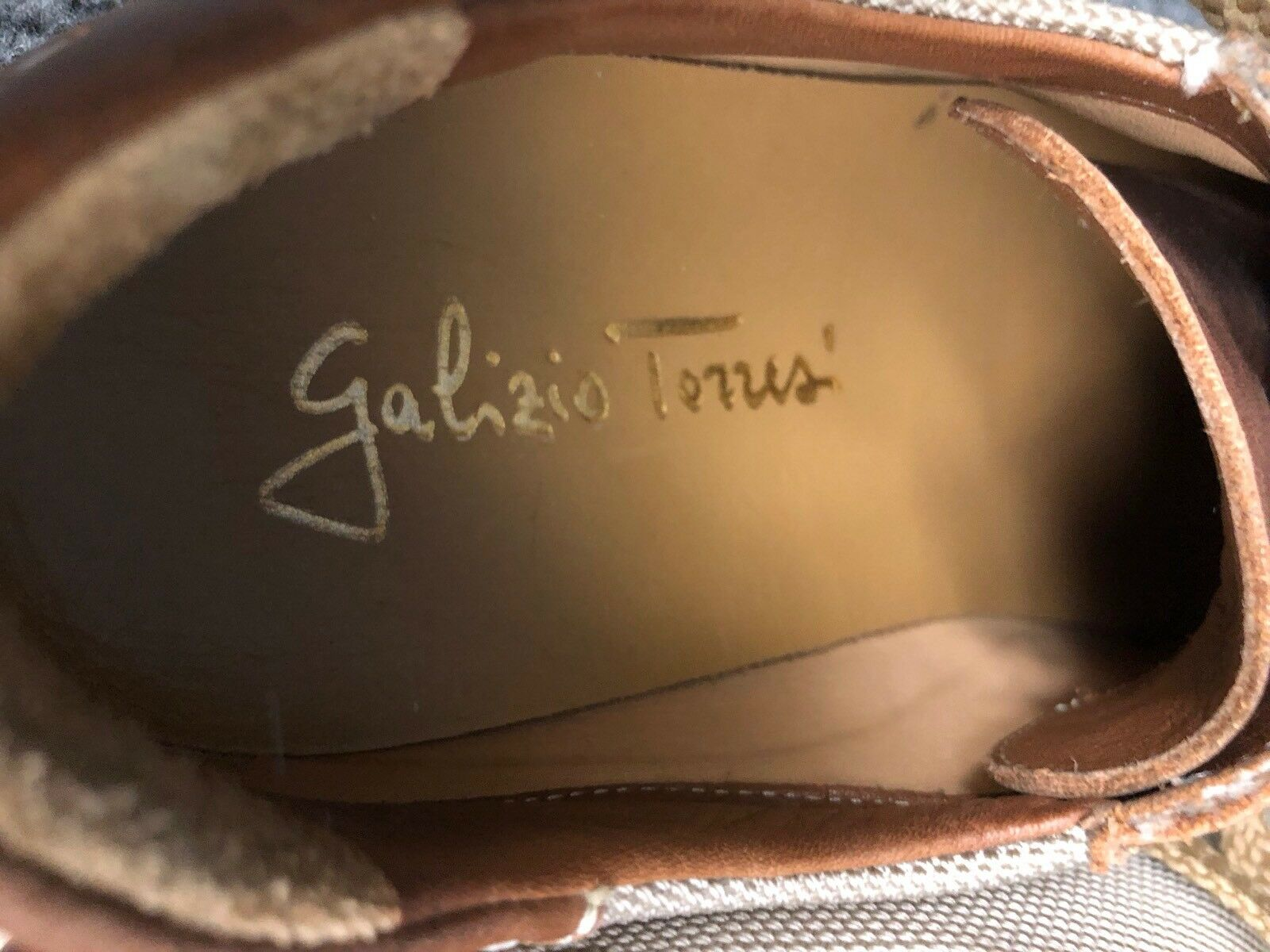 Galizio Torresi Womens Brown Leather Oxford Oxford Oxford Lace Up shoes 38 7-7.5  95fd58