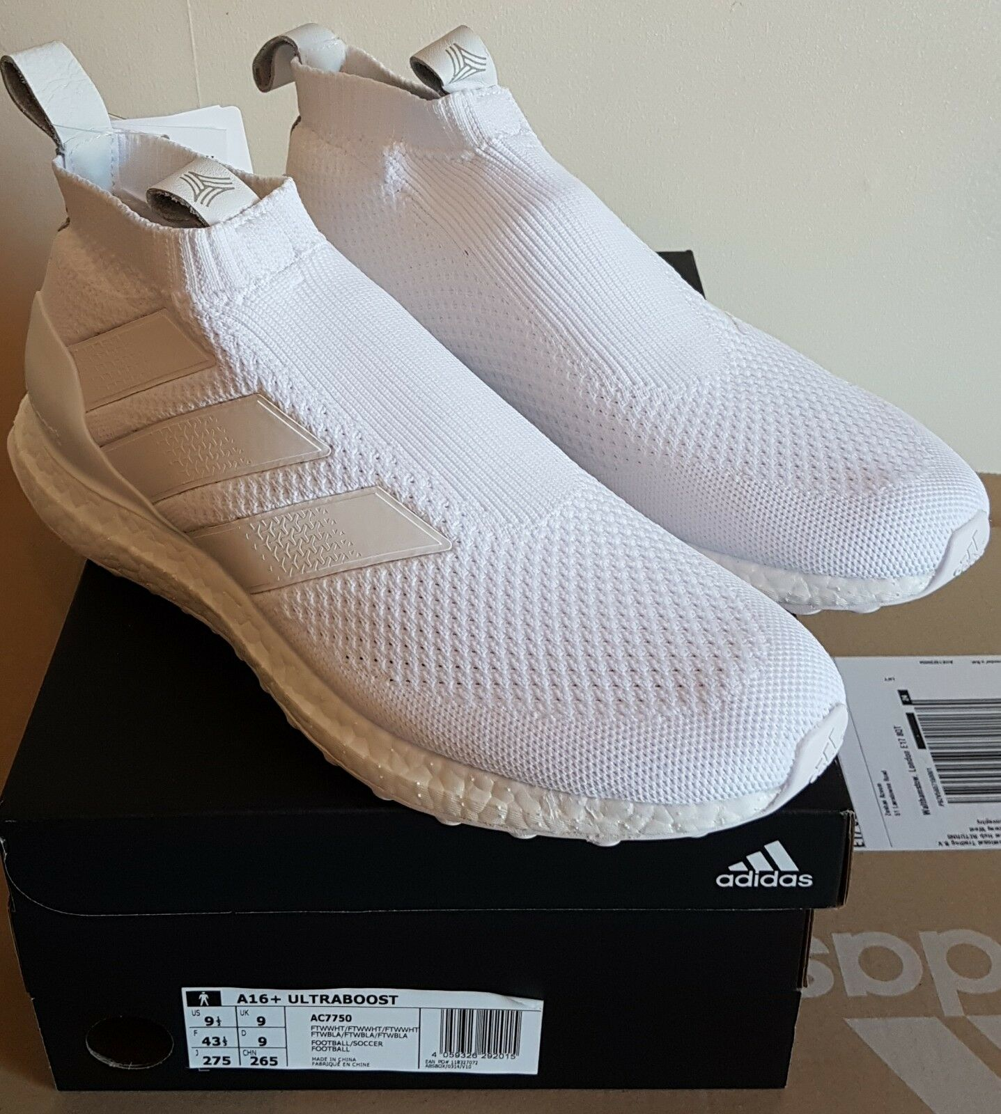 ADIDAS A16+ Pure Control Ultra Boost Triple BIANCO RRP RRP RRP 0fbad0