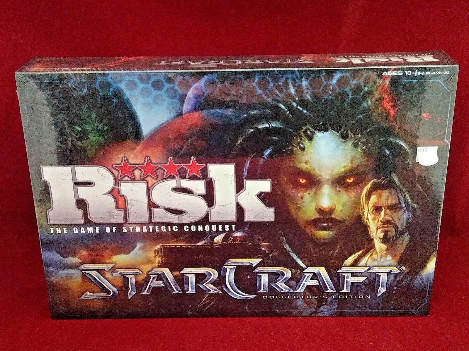 Risiko starcraft collector 's edition strategie spiel, neue fabrik versiegelt