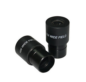 PAIR-High-Point-Spectacle-10x-FOV-16mm-for-Compund-Lab-Microscope-Eyepiece-23mm