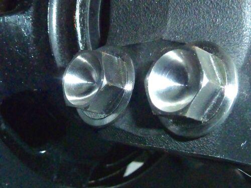 Kawasaki KX250F KX450F ZRX1100  FRONT FORK PINCH BOLTS TITANIUM HEX Ti NEW BEST