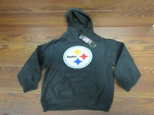 new styles bcd51 e8241 Details about NEW! Youth Kids Size M Medium 5/6 PITTSBURGH STEELERS Team  LOGO Hoodie