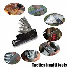 Outdoor Camping Tools Multifunction Knife with Multi-tool + Flashlight ZOOM Cree