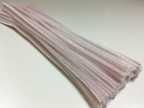 10 pack MAUVE chenille craft stems pipe cleaners 30cm long 6mm wide
