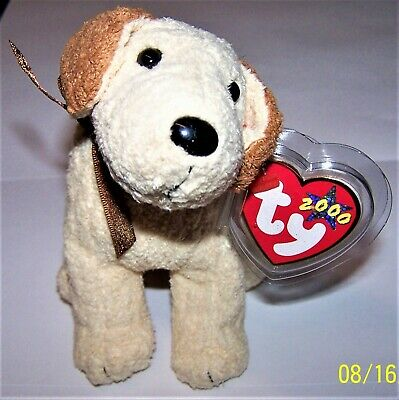 MWMT 5.5 Inch Ty Beanie Baby ~ RUFUS the Dog