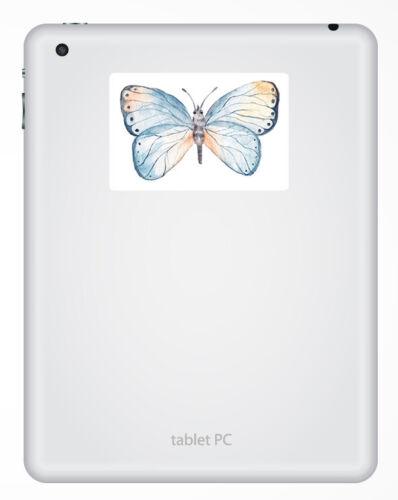 Art Sticker Laptop Luggage #18081 2 x 10cm Pretty Butterfly Vinyl Stickers