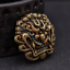10X-33mm-Solid-Brass-Chinese-Dragon-Head-Conchos-Screw-Back-Leather-Craft-Decor miniature 3