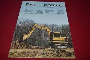 Caterpillar 205 LC Hydraulic Excavator Dealer/'s Brochure DCPA6 ver3