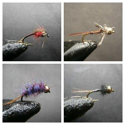 Ninfas Perdigón perdigones sin muerte pesca a mosca fly fishing rovflies