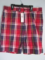 NWT Tommy Hilfiger Mens Roosevelt Plaid Shorts