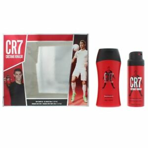 Cristiano Ronaldo CR7 Shower Gel 200ml & Body Spray 150ml Gift Set For Him