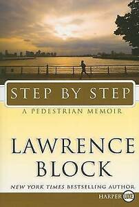 Step-by-Step-by-Lawrence-Block-Brand-New-Remaindered-Copy-Hardcover-Dust-cover
