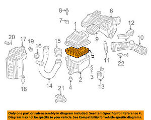 image is loading honda-oem-97-01-cr-v-engine-air-