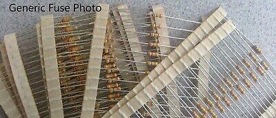 100 Resistors 5/% 1//4W 0.25W E12 High Quality CR25 Carbon Film RoHS 100R to 820R
