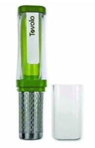 Tovolo TeaGo Portable Mobile Tea Press Filter Strainer Maker