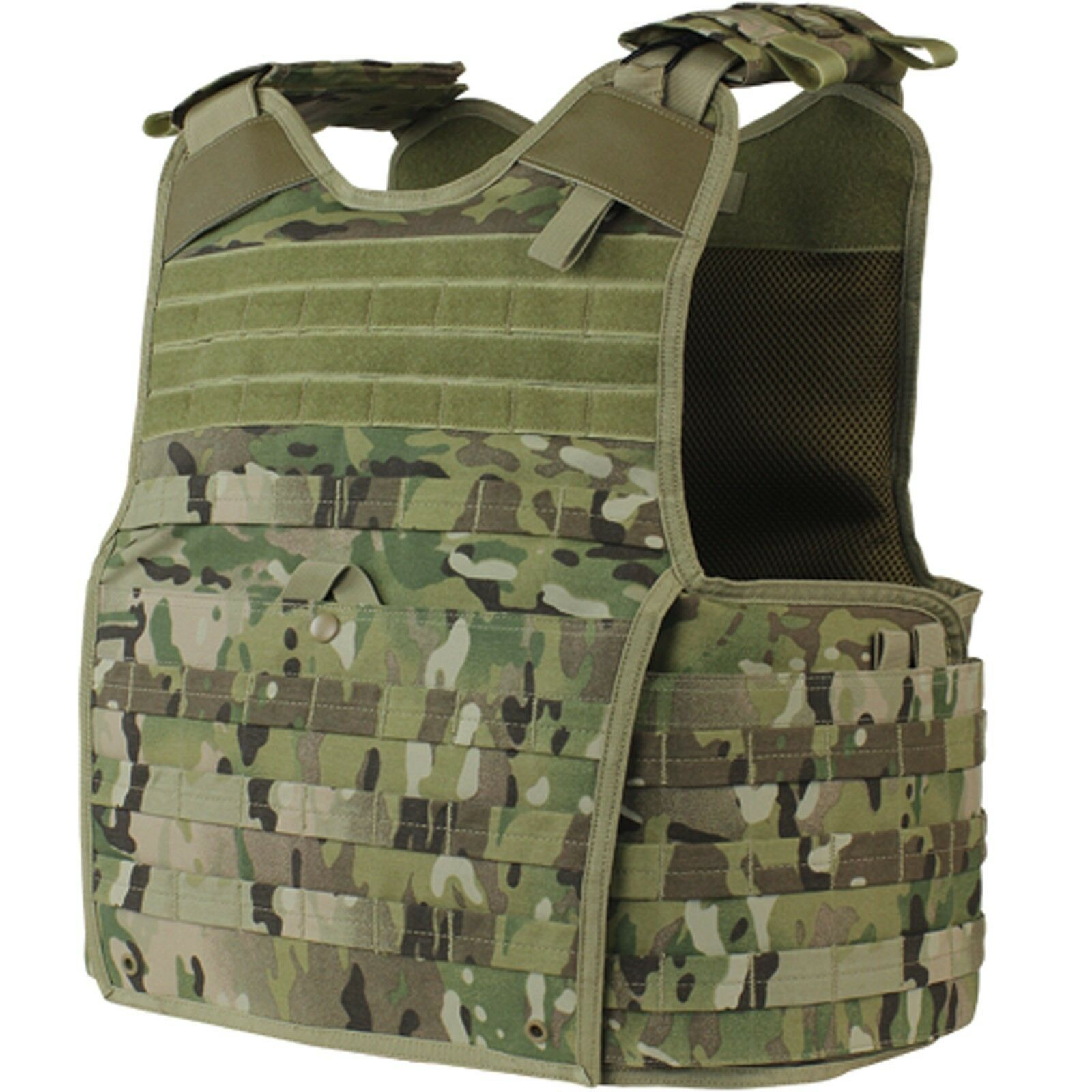 Condor Multicam Tactical  MOLLE PALS Modular Enforcer BALCS SPEAR Plate Carrier  happy shopping