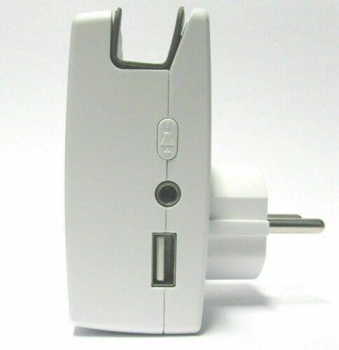 Ladenglocke Funk Bewegungsmelder Durchgangsmelder Funkklingel USB Zutrittsmelder