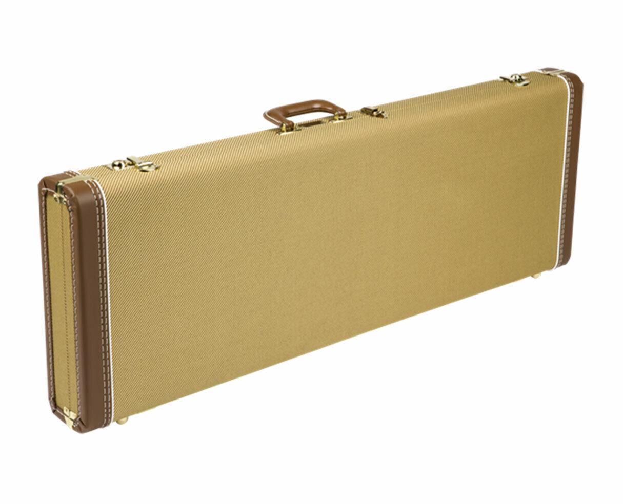Fender G&G Deluxe Hardshell Cases - Stratocaster Telecaster Tweed